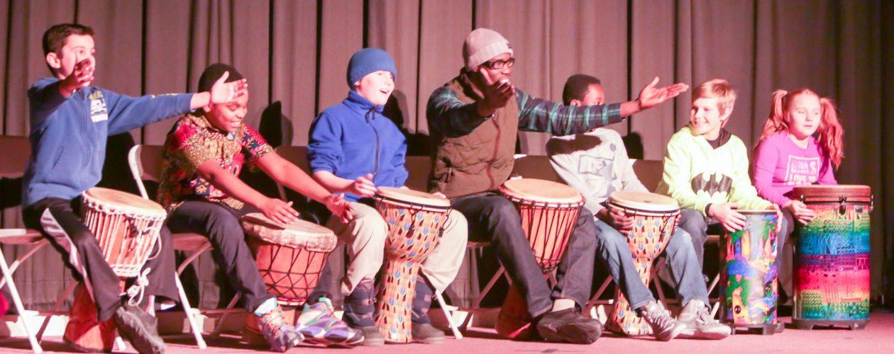 Flynn drumming