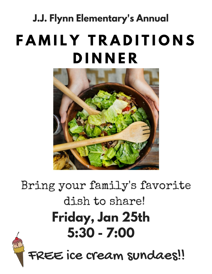 FAMILY TRADITIONS DINNER